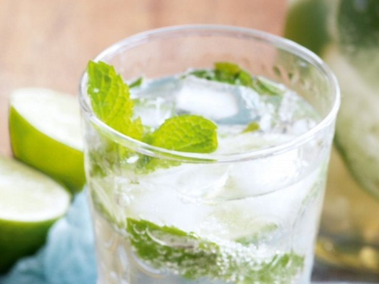 Lime And Mint Soda