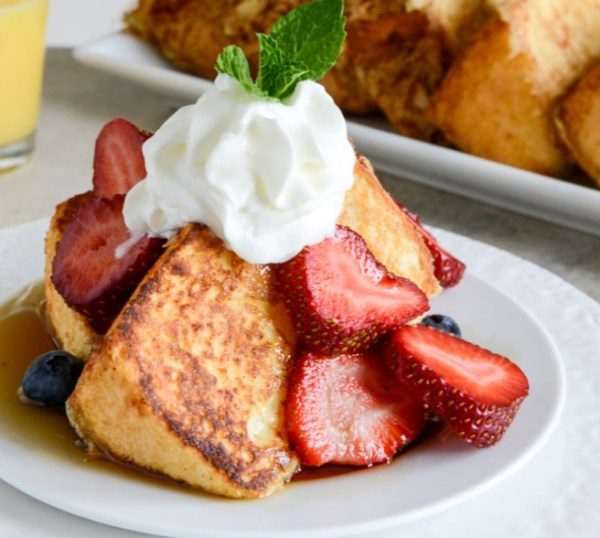 Angel Food French Toast