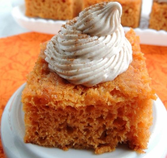 Pumpkin Pie Angel Food Cake