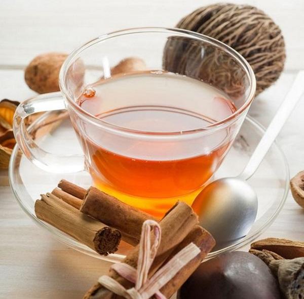 Homemade Hot Spiced Orange Tea