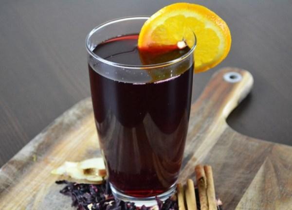 Homemade Hibiscus Tea