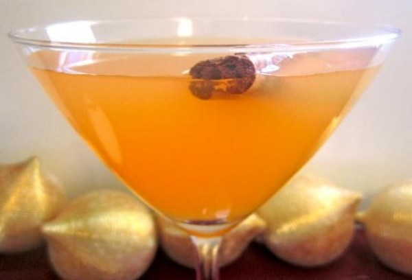 Orange Spice Martini