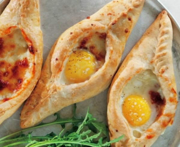 Cheese and Egg Filled Pies