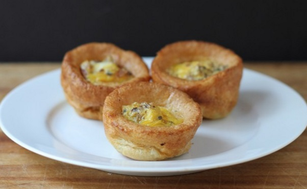 Egg-Filled Popovers