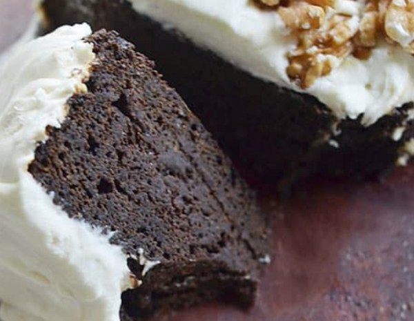 Dark Molasses Gingerbread Cake