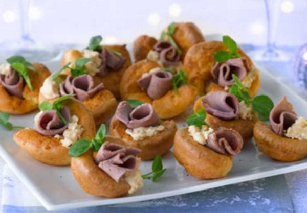 Mini Yorkshire Pudding Canapé