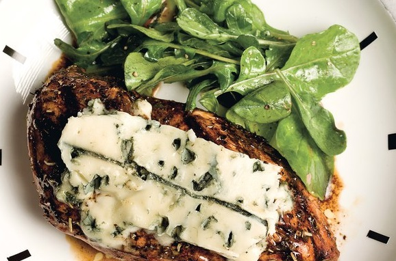 Herbed Balsamic Chicken With Mouldy Cheese