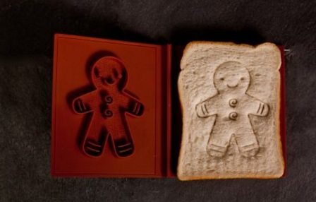 Gingerbread Man Bread Stamp