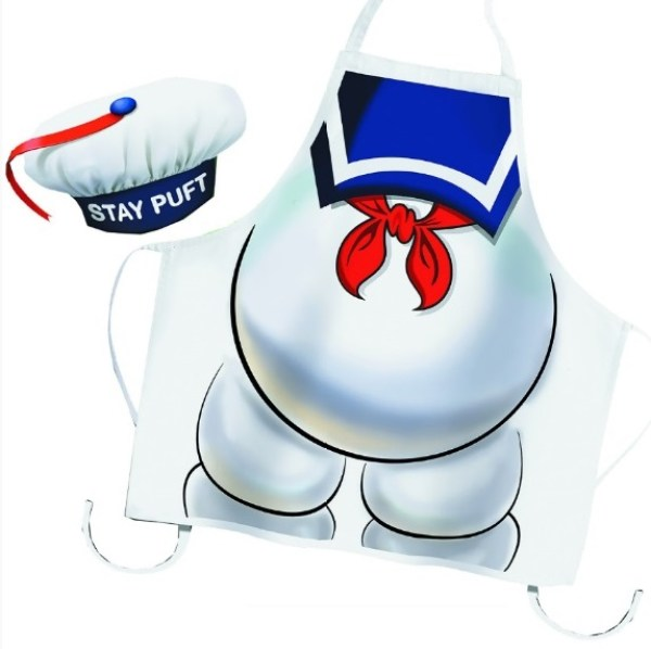 Stay Puft Apron and Chef's Hat Set