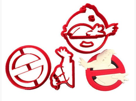 Ghostbusters Cookie Cutter Set