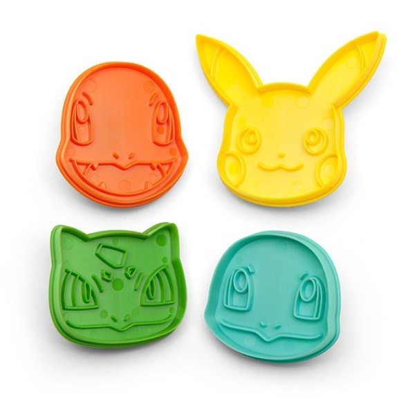 Pokémon Cookie Cutters
