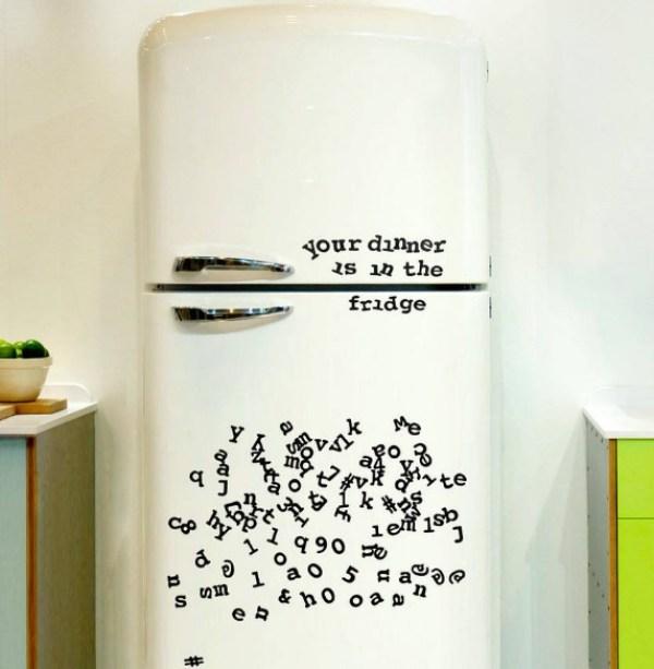 Alphabet Fridge Magnets