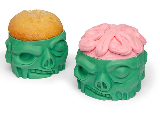 Zombie Baking Cups
