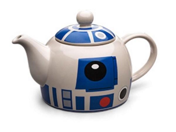 R2D2 Ceramic Teapot