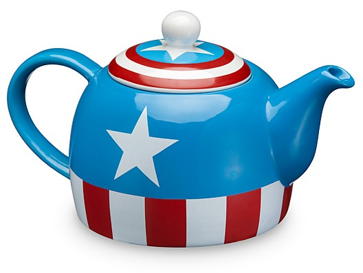 Captain America Ceramic Teapot