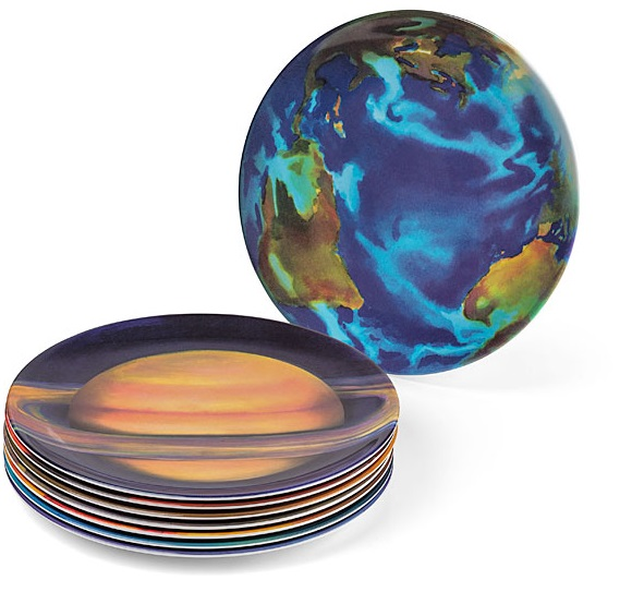 Planetary Plates  sc 1 st  Top 10 Food and Drinks From Around The World & Top 10 Amazing Nerdy and Unusual Kitchen Dinner Plates