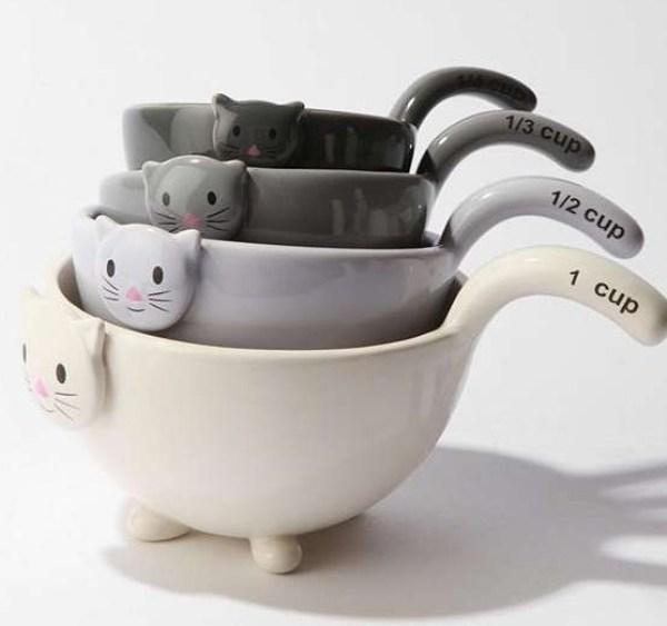 Kitties Measuring Cup Set