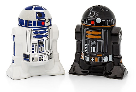 R2 Unit Droids Salt & Pepper Pots