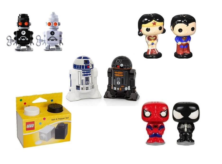 Top 10 Amazing, Nerdy and Unusual Salt & Pepper Shakers