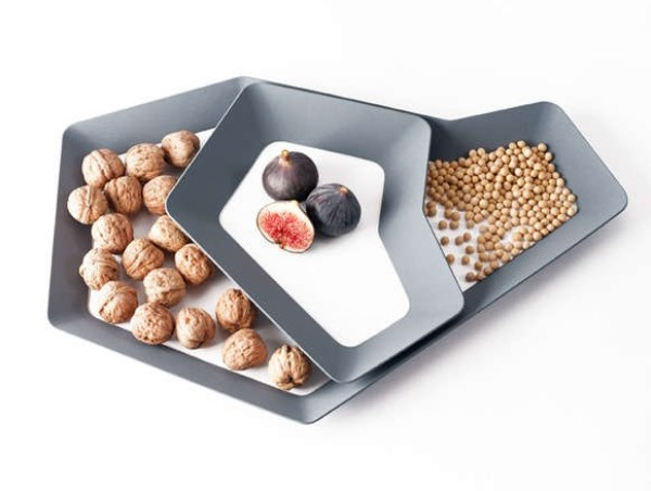 Angular Perimeter Serving Platter