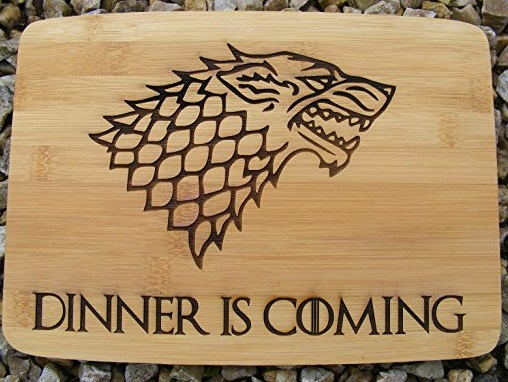 Game of Thrones Wooden Cutting and Chopping Board