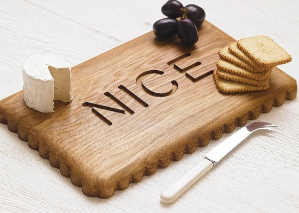 Nice Biscuit Wooden Cutting and Chopping Board
