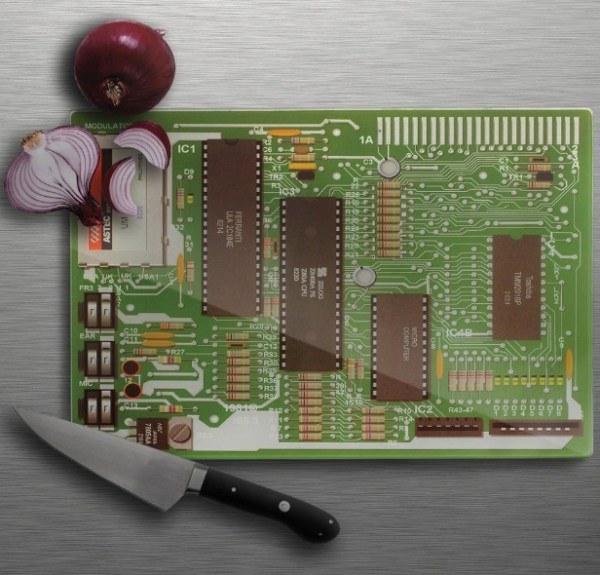 Motherboard Cutting and Chopping Board