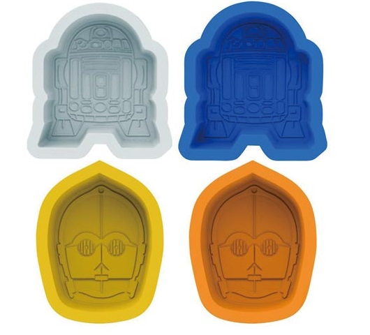R2-D2 & C-3PO Silicone Cupcake Moulds