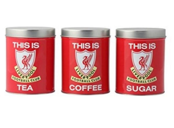 LFC Coffee, Tea & Sugar Canisters