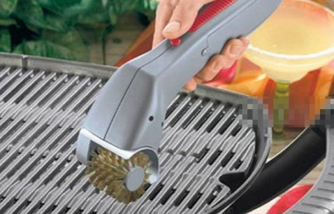 Motorized Oven Grill and BBQ Cleaning Brush