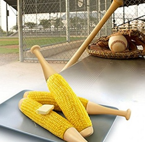 Baseball Bat Corn On The Cob Forks