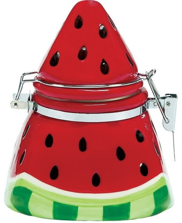 Watermelon Cookie Jar