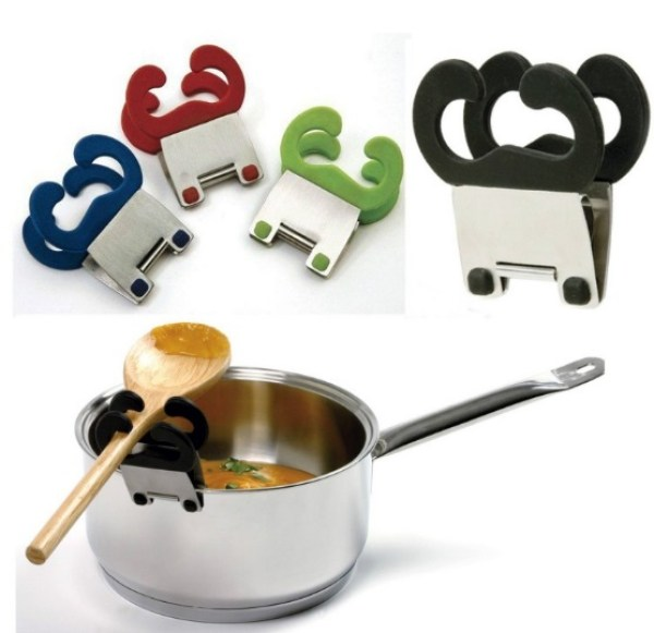 NorproSauce Pan Spoon Clip