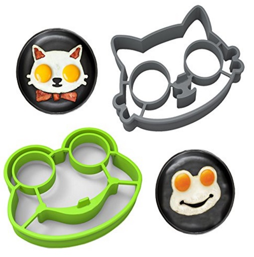 Cat & Frog Fried Egg Shaper