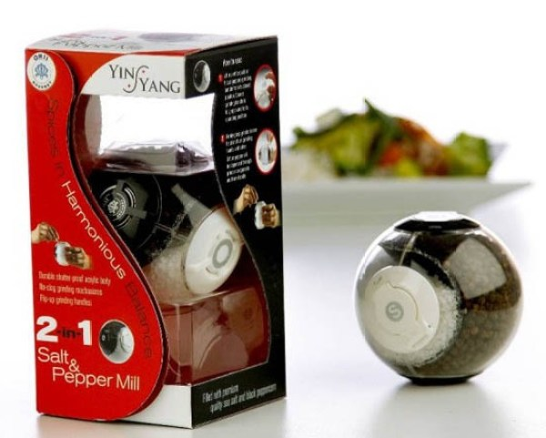 Orii Gourmet Salt & Pepper Mill Grinders