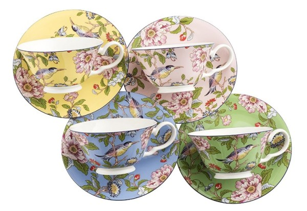 Aynsley Pembroke Tea Cup and Saucer