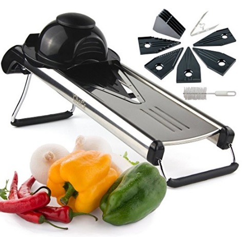 Premium V-Blade Mandoline Vegetable Cutter/Dicer