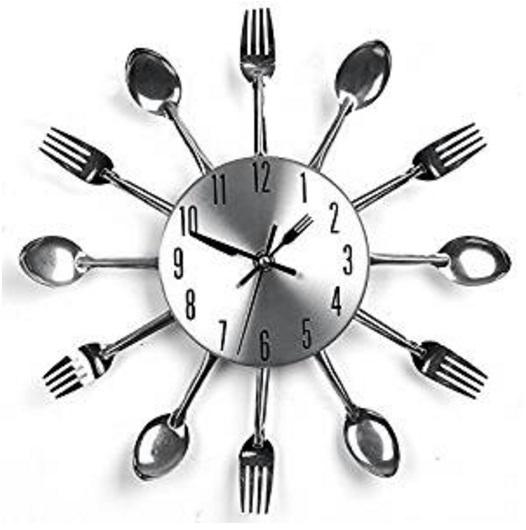 Cutlery Kitchen Wall Clock
