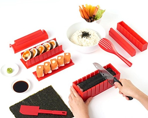 11 Piece Sushi Maker Set by SushiAya