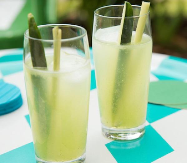 Lemongrass Cucumber Cocktails