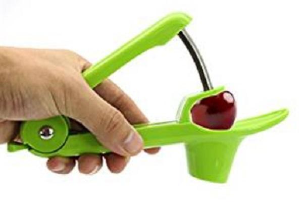 Lengthened Splatter Shield Cherry Pitter Tool