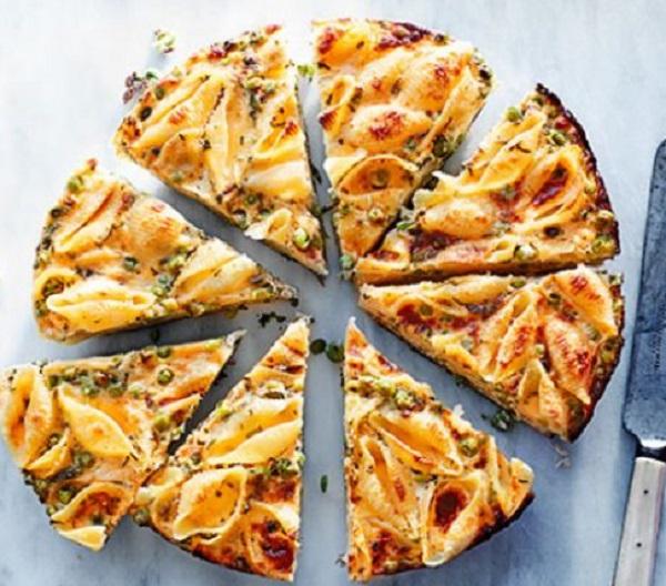 Pea & Pasta Frittata