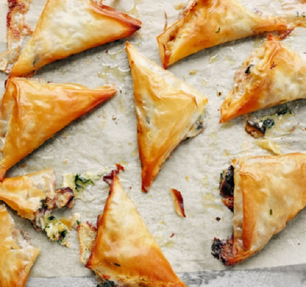 Melting Fig Filo Parcels