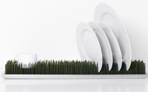 Grassy Drying Dish Rack