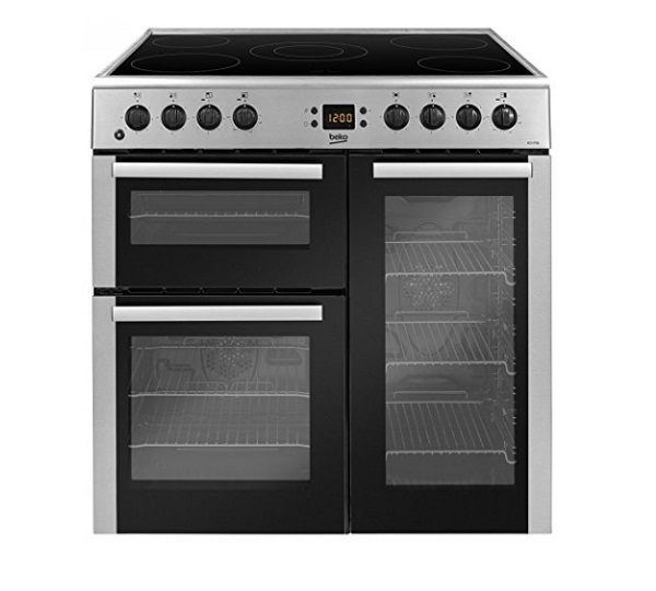 Beko BDVC90X Freestanding Electric Range Cooker