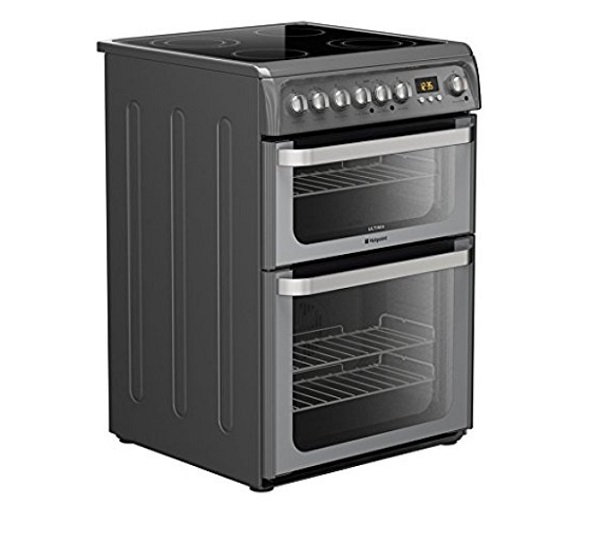 Hotpoint Ultima HUE61G Freestanding Electric Cooker