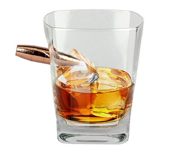 Barbuzzo Last Man Standing Bullet Durable Whiskey Glass
