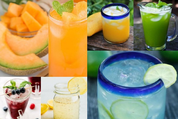 Ten Amazing Recipes for Agua Fresca Drinks to Cool Down the Summer