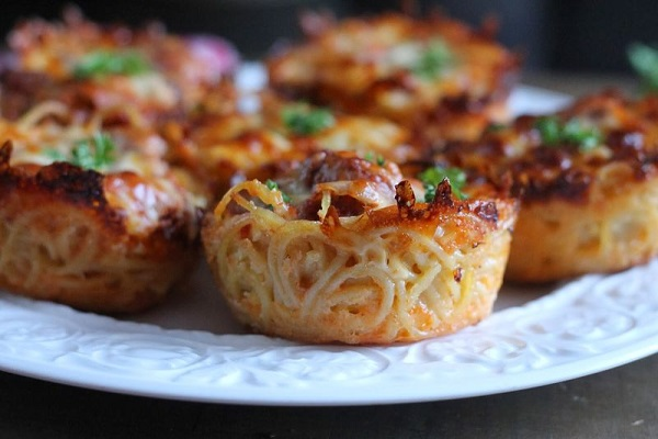 Spaghetti Muffins