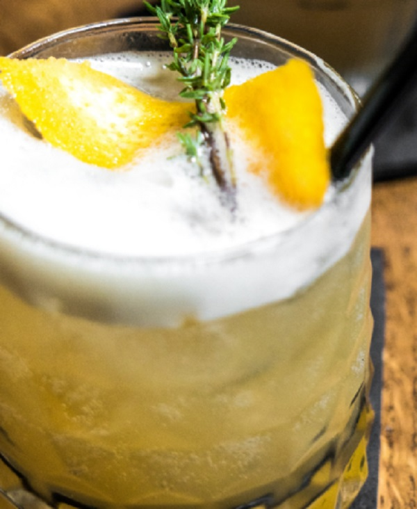 Irish Whiskey Thyme Sour